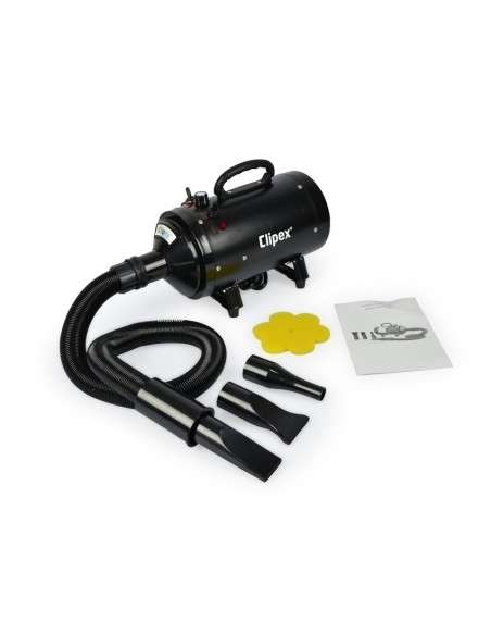 Secador para Mascotas 2400W con Calentador