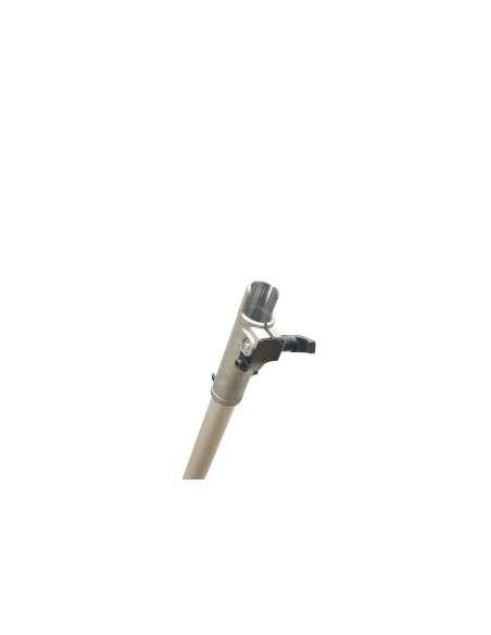 Campana embrague 28mm y 9 estrías para desbrozadora con tubo y eje