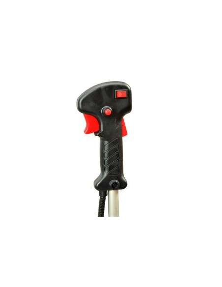 Desbrozadora de Gasolina de 62cc Barra Divisible Sistema de Anti-Vibración con 2 discos y cabezal de hilo plastico