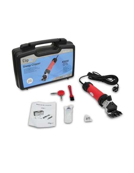 Maquina de Esquilar Eléctrica para Ovejas 450W Esquiladora Trasquilar
