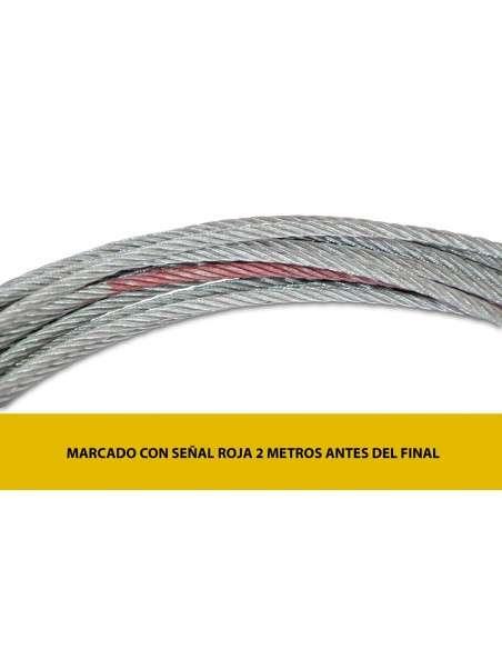 Cable de Acero para Cabrestante Electrico 12v