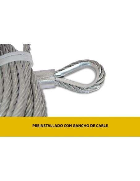 Cable de Acero para Cabrestante Electrico 9,5mmx28m