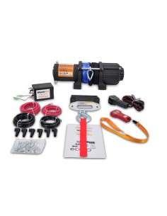 Cabrestante electrico 12v Winch 2045Kg Cuerda sintética
