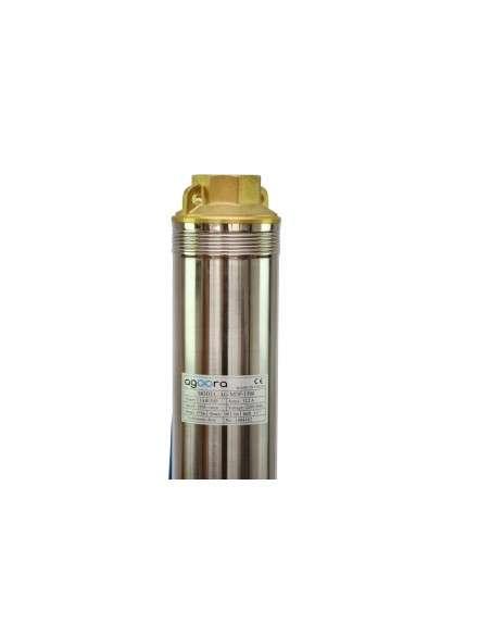 Bomba de Agua para Pozo 1500W Sumergible 158m de Profundidad 5,8m3/h 21 turbinas