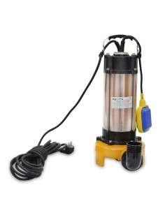 Bomba de Agua Submergible para Agua Sucia 2200W con Cuchilla de Corte