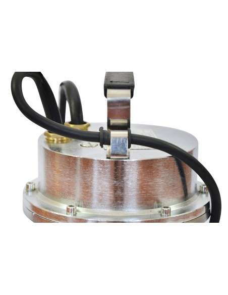 Bomba de Aguas Sucias Sumergible 1500W para Agua Sucia 500L/m con Interruptor Flotante