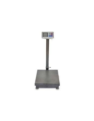 Báscula de Plataforma Industrial Digital 500kg Cuerpo Reforzado