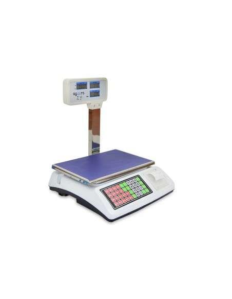 Bascula Comercial 50Kg con Impresora de Ticket