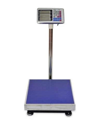 Bascula Industrial De Plataforma 40x50Cm Peso Digital 300Kg Precisión 50Gr