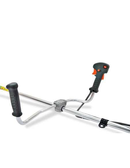 Desbrozadora Gasolina 52cc 3 en 1 con Arnes y Casco de Seguridad, Barra divisible con discos de 3 y 40 puntas, cabezal de hilo