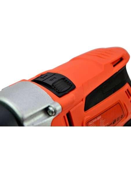 Spark - Taladro percutor con Cable 850W, 230V Taladro Eléctrico, Martillo y Taladro 2 Funciones en 1, Velocidad variable, Empuñadura Giratoria 360°