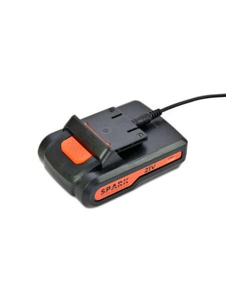 Taladro a Batería 21V+2 Baterías, Atornillador 27Nm Par Máximo, Destornillador Eléctrico 18+1 Ajustes de Par Carga Rápida