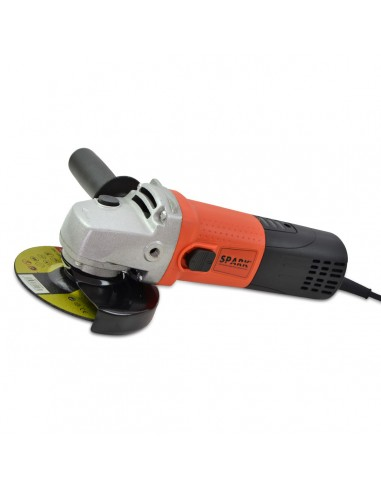 Amoladora Angular, 125 mm, 900 W, Velocidad Varible de 3.000 a 11.000 RPM, Radial Angular, Diámetro de 125 mm, eje M14