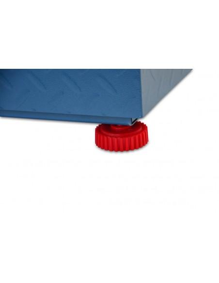 AgoraDirect - Bascula Industrial Inalámbrica 500kg/100g, Pantalla Digital De Lcd De Doble Cara, Gran Plataforma De Acero Reforzada 45x55cm, Báscula Pesada Para Paquetes Postales