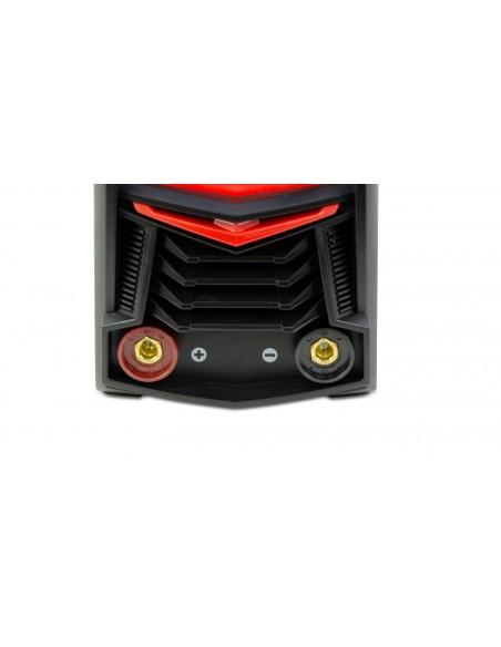 Grandmaster - Soldadora Inverter MMA 200A/220V DC, Pantalla Digital, Tamaño Máximo De Electrodo 4.00mm, Máquina De Soldar Portátil Con Inverter, Soldadora De Arco, Accesorios Incluidos