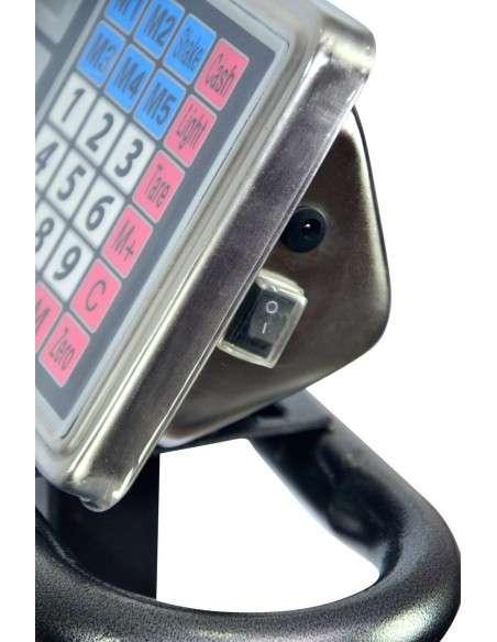 Peso Industrial Bascula Digital Balanza 1000Kg Reforzada y Plegable