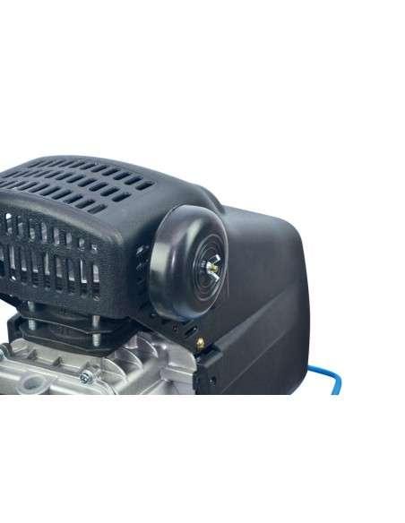 Compresor de Aire 50 Litros 1500W, 206L/Min Compresor de Aire Portátil con presostato, reductor de aire, 2 conectores europeos