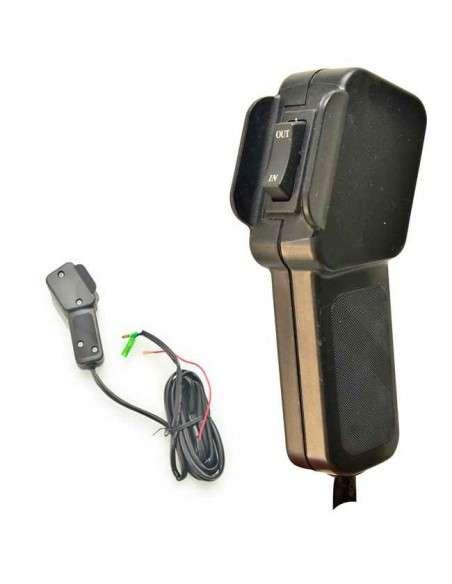 Cabrestante Electrico 12v Winch 2045Kg con Mando Inalámbrico Placa de Montaje